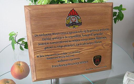 Nadruk na drewnie